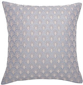 Ted Baker Art Deco Fan-Embroidered Square Pillow