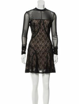 Alexander Wang Lace Mini Dress w/ Tags Black
