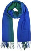 Mila Schon Cashmere and Wool Fringed Stole
