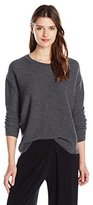 MiH Jeans Women's Fence Side Seam Honeycomb Texture Sweater
