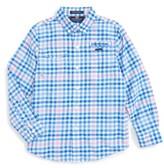 Vineyard Vines Toddler Boy's Salt Island Harbor Plaid Shirt