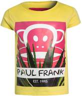 Paul Frank EST. 1995 Print Tshirt yellow