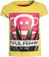 Paul Frank EST. 1995 Print Tshirt yellow