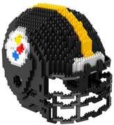 NFL Forever Collectibles 3D BRXLZ Mini Helmet Building Block Set
