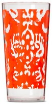 Mudhut Ikat 22oz Plastic Tumbler - Orange