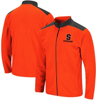Colosseum Men's Orange Syracuse Orange Gaines Full-Zip Jacket