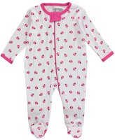 "Luvable Friends Baby Girls' ""Ladybug Shuffle"" Coverall"