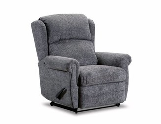 Red Barrel Studio Shavon Recliner Upholstery Color: Mink, Reclining Type: Manual, Motion Type: Rocker Recliner with Heat and Massage