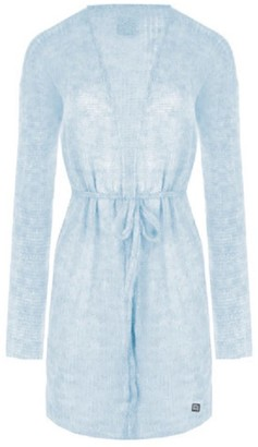 You By Tokarska Helen Sweater With Belt Light Blue