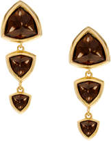 Circe Katie Rowland Trillion Smoky Quartz Drops