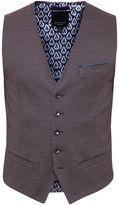 Ted Baker Cabwai Mini Design Waistcoat
