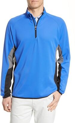 Cutter & Buck Traverse Colorblock Quarter Zip Pullover