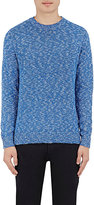 Vince MEN'S COTTON-LINEN CREWNECK SWEATER