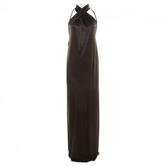 Gucci Khaki Viscose Dresses