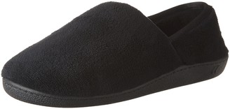 Isotoner womens Microterry ContourStep Espadrille Moccasins