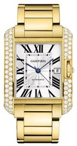 Cartier Tank Anglaise Large wt100007 18K Yellow Gold Watch