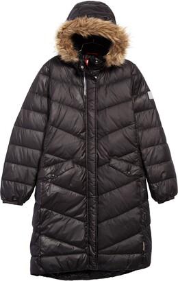 Reima Satu Waterproof Quilted Down Hooded Jacket