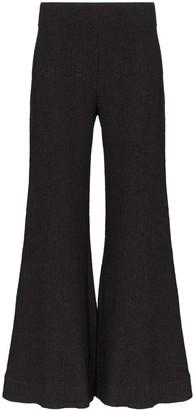 Deitas venus flared trousers