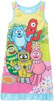 Komar Yo Gabba Gabba Sleeveless Gown (Toddler Girls)