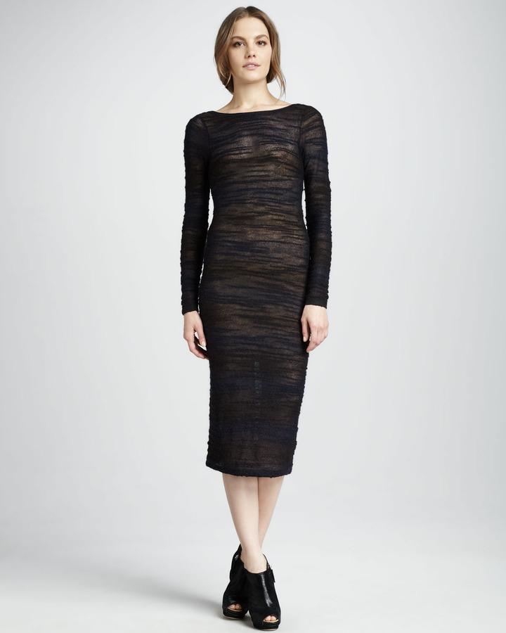 Alice + Olivia Macie Ruched Dress