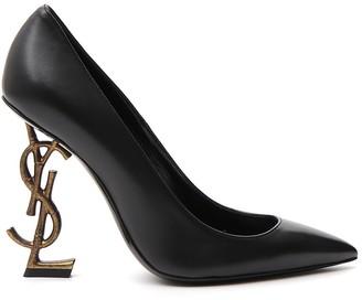 Saint Laurent Pointed Monogram Heels