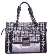Karl Lagerfeld Women's Black Leather Handbag.