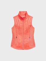 DKNY Vertical Quilted Down Vest
