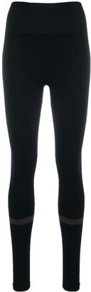 Filippa K Soft Sport Jacquard Stripe Leggings