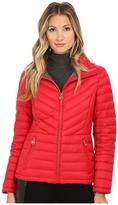 MICHAEL Michael Kors Chevron Packable Down Women's Coat