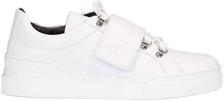 Balmain Logo Strap Sneakers