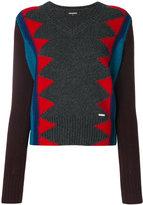 DSQUARED2 zigzag jumper