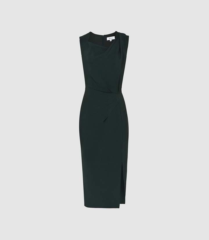 da5fed0782 Reiss Pleated Dress - ShopStyle UK