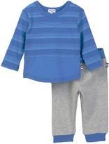 Splendid Stripe T-Shirt & Jogger Pants Set (Baby Boys)