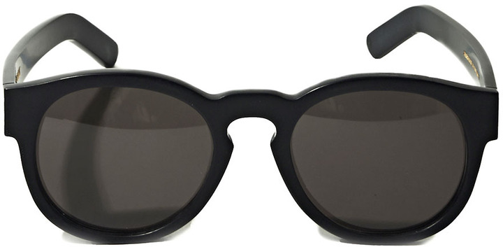 Unisex Gill Matt Black Sunglasses