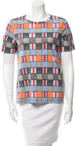 Tory Burch Printed Short Sleeve Top