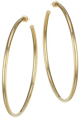 Jennifer Zeuner Jewelry Selene Goldplated Oversized Hoop Earrings