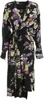 Isabel Marant I am Asymmetric Midi Dress