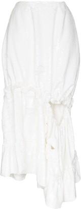 Simone Rocha Cutout Sequined Midi Skirt