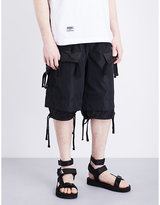 Ktz Tassel Shell Shorts