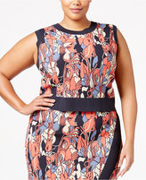 Rachel Roy Trendy Plus Size Sleeveless Cropped Sweater