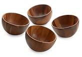Nambe Luna Individual Salad Bowl, Set of 4