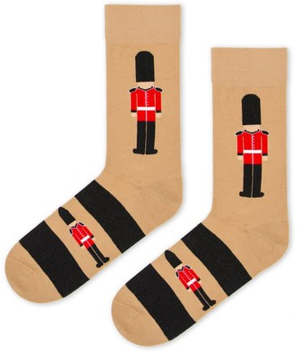 Look Mate London The Queens Guard Socks