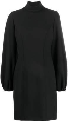 Cavallini Erika bishop-sleeves turtleneck dress