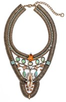 Lionette by Noa Sade Lionette x Sincerely Jules 'Havana' Simulated Opal Statement Necklace