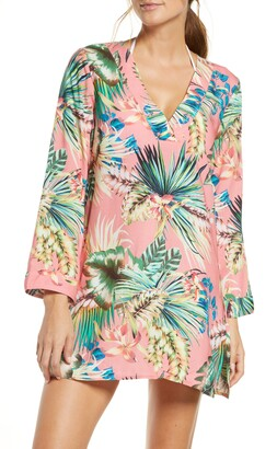 La Blanca Tropical Cover-Up Tunic