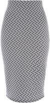 Jane Norman Monochrome Texture Skirt