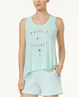 Alfani Graphic-Print Pajama Tank Top, Only at Macy's