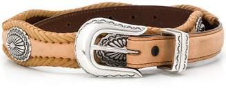 Jessie Western oval concho belt