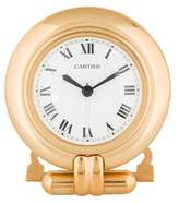 Cartier Brass Alarm Clock