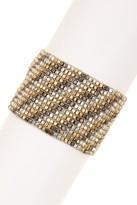 Stephan & Co Striped Stretch Bracelet
